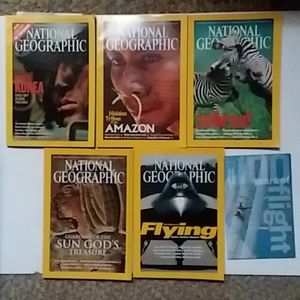 Vintage National Geographic issues 2003 EUC